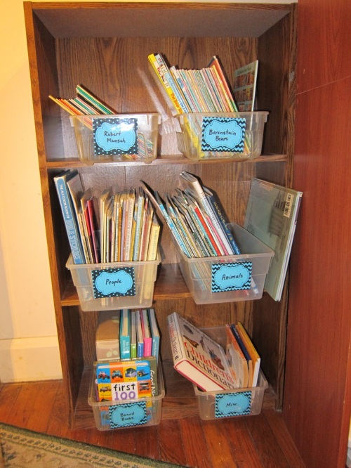 Organizing kid books1